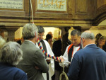 Blessing the new Treble at Minstead
