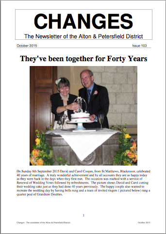 """AP District Issue 103 of """"Changes"""" newsletter"""