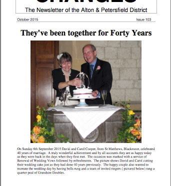 "AP District Issue 103 of ""Changes"" newsletter"