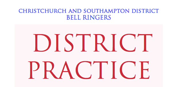 CS District Practice 6pm June 3rd at Ringwood. Special Method Double Norwich
