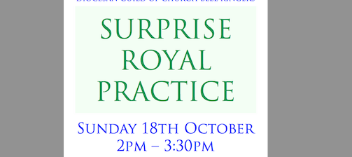 WP Surprise Royal Practice – Southampton 2pm Sunday 18th October