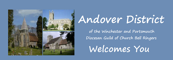 Andover District 8 bell Practice – 3rd Jan 7.30 at Holybourne
