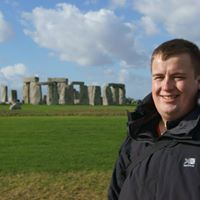 Daniel at Stonehenge