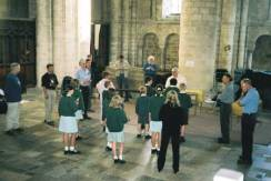 Handbells Workshop at Winchester Cathedral