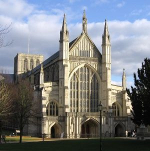 Winchester Cathedral 12-bell Practice – Wednesday 28th September