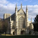 Winchester Cathedral Photograph by Colin Cook