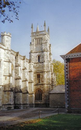 Winchester College Photograph by Chris Kippin