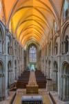 Christchurch Priory Dorset from the Choir Screen - by Jack Pease
