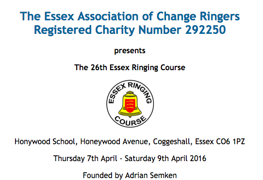 **Invitation to the Essex Course (Applications by 12th Feb)