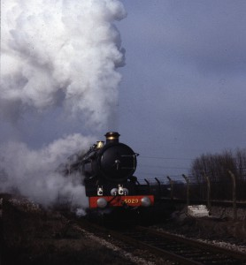 Steam Locomotive Commemorated by a peal