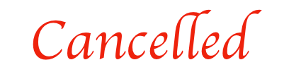 **Cancelled practice at Crawley Tuesday (30th January)