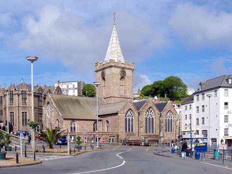 Duncan Loweth Reports on Firsts Fortnight from the Town Church, Guernsey
