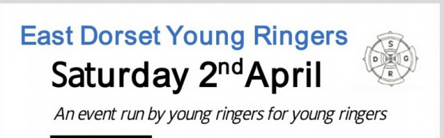 Reminder – Young Ringers – April 2nd – Dorset