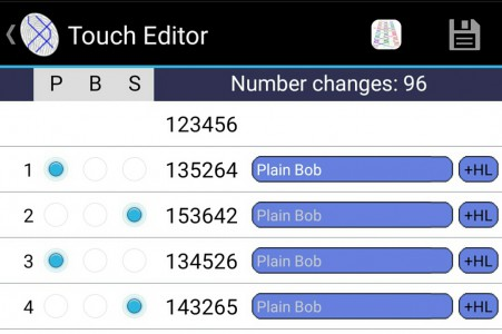 Using TOUCHLINE to learn bob calling