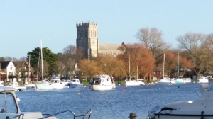 Christchurch Priory from Bournemouth