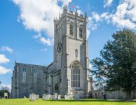 Quarter Peal rung for the Queen and St. George at Christchurch Priory