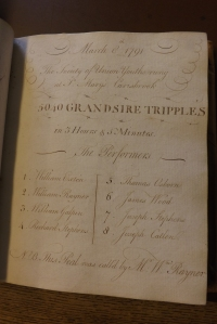 From the volumes of William Rayner's records
