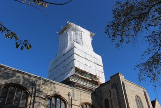 Portsmouth Cathedral – Update on the current Works (and a personal message from Ian)