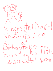 Winchester District Practice Sunday 17th of April