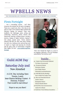 Guild Newsletter May 2016
