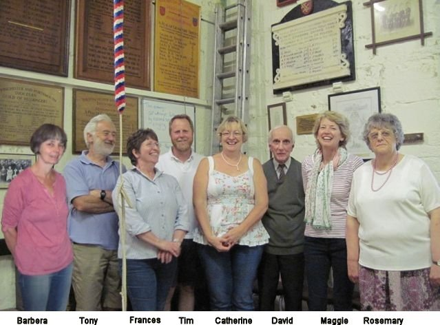 Quarter Peal to celebrate 50 years of ringing by Rosemary Rogers