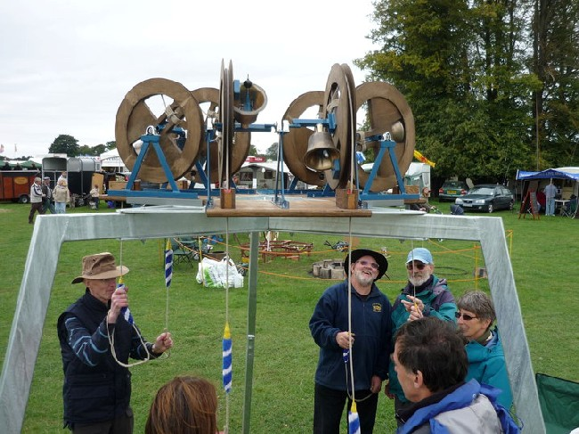A mini ring comes to village fête.