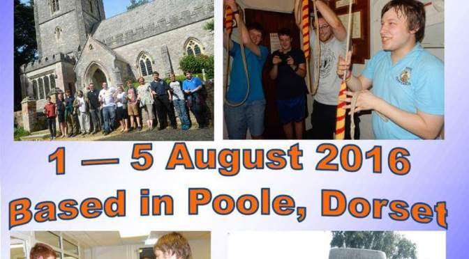 Christchurch Priory Practice Night Report Aug 1st 2016 – Young Ringers' Lilliput Tour Visit