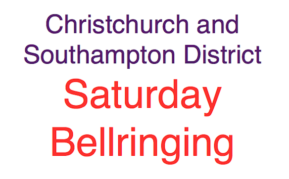 Christchurch and Southampton District Practice Sat 14th July 6.00pm