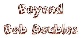 Beyond Bob Doubles – Wed 31st Oct – 7.30-9pm