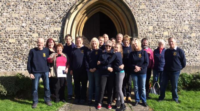 Rotherwick and Heckfield's  Tower outing on 1st Oct is a great success.