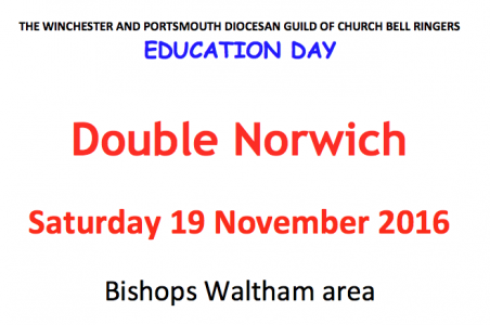 WP Guild Education Day – Double Norwich Saturday 19 Nov