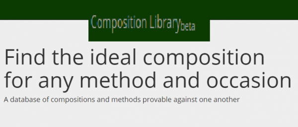 Simple Touches of Kent Treble Bob Minor (And an introduction to complib, an online database of compositions)