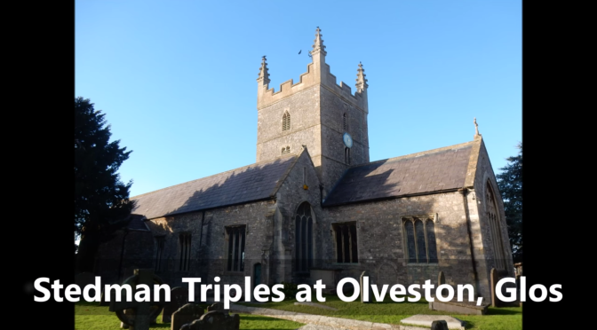 Bells on Saturday (Stedman Triples  at Olveston, Glos)