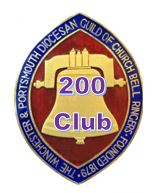 Winchester and Portsmouth Diocesan Guild of Church Bell Ringers Members 200 Club
