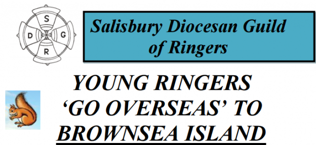 Brownsea Island Trip for Young Ringers – Weds 19th April – Invitation from SDGR