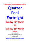 CS District Quarter Peal Fortnight Update