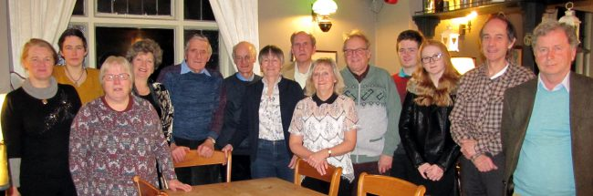 Blackmoor AGM and Tower Dinner – Valerie Harris Reports