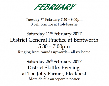 AP District Events February 2017