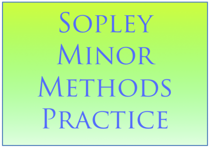 Sopley Minor Methods Practice