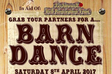 **CANCELLED** Barn Dance for Ecchinswell Bell Restoration Trust – Sat 8th April