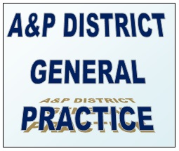 A&P General Practice  Saturday 18th March  at Selborne 5.30 to 7.00pm