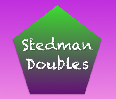 Stedman Doubles practice Saturday 1st April 2017 10:30-13:00 at Herriard **Full