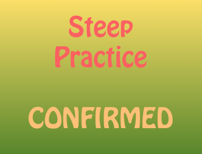 Steep Practice Tuesday 28th March **CONFIRMED**