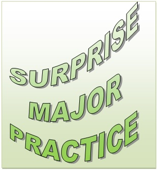 A&P District  Surprise Major  Practice Saturday 8th April   5.30 to 7.00pm at Hawkley