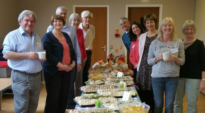 W&P's Basingstoke District impress ART 2017 guests with their food making skills.