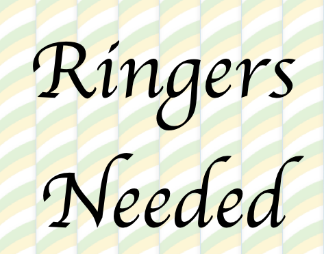 Wedding Ringers needed at Portsea  19th August