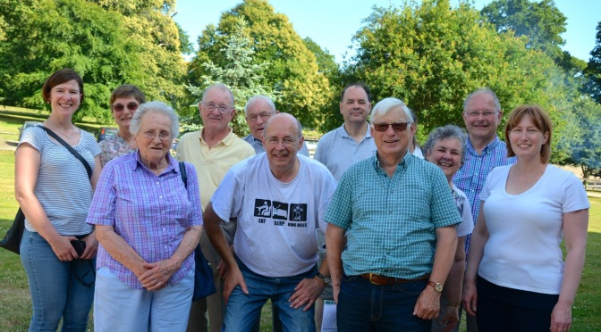 Botley and Curdridge Tower Outing (Robin Milford Reports)