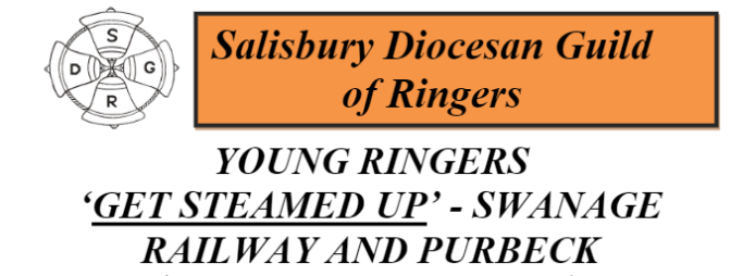 Young Ringers' Steam Train and Ringing Day in Swanage and Purbeck 23rd August (SDGR)