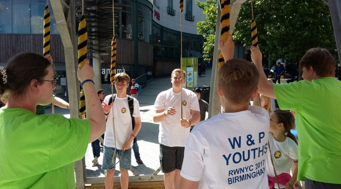 Reporting from the Youth Championships…