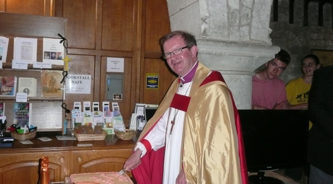 Bishop visits Brighstone